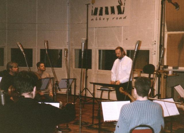 Rick Benbow at Abbey Road Studios